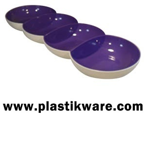 TUPPERWARE ALLEGRA PERLE / SERVIERTABLETT